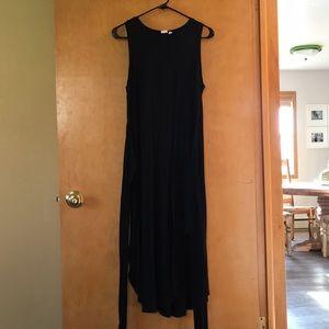 Gap maxi wrap dress